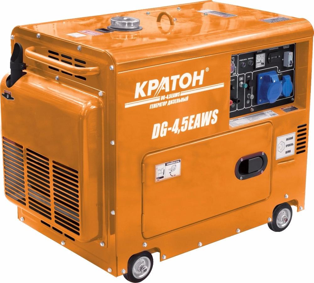 Diesel Generator KRATON DG-4,5EAWS gtr17 generator control automatic start generator controller gtr 17