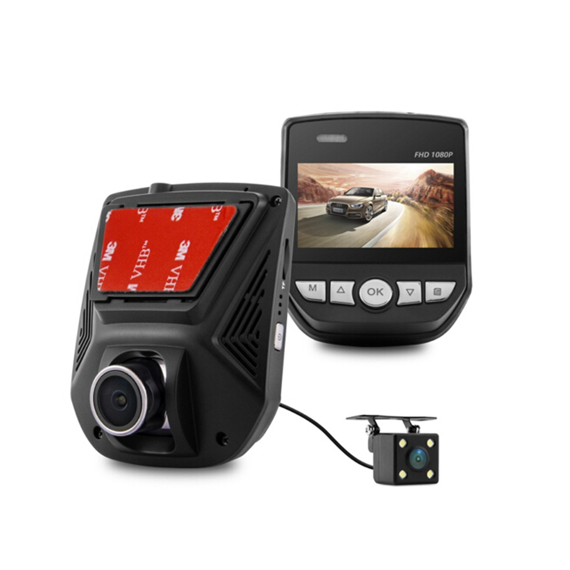 Dual Lens FHD 1080P Car DVR  LCD Screen  IMX323 Car Video Recorder Dash Cam With Rear Camera le 40tl1600 motherboard t ms18vg 81b 11467 with screen tx4a24 fhd