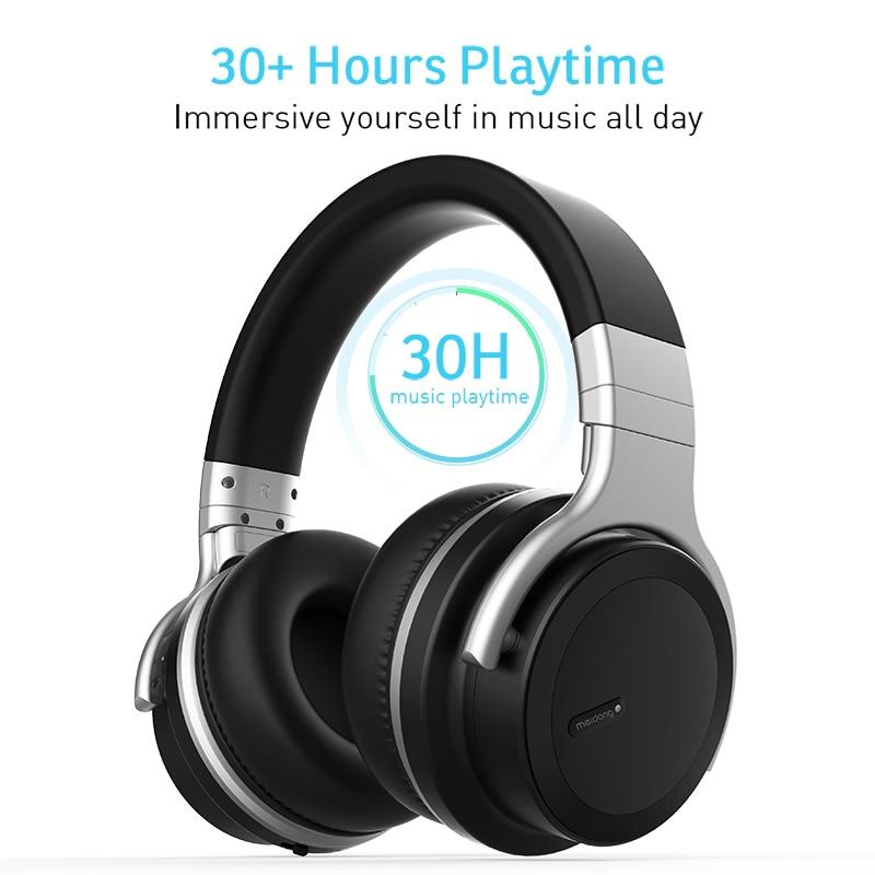 E7MD PRO headset Bluetooth active noise canceling headphones music wireless headset Bluedio T6