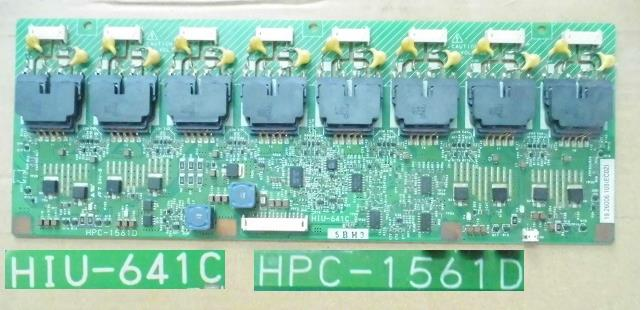 HPC-1561D  Connector HIGH VOLTAGE Board For Screen HIU-641C T26XW02 V.0 19.26006.108 T-CON Connect Board GLB