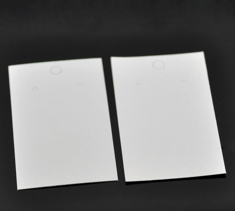 100PCs White Earrings Jewelery Display Cards 9x5cm(3 4/8x2) New Home Sundries Storage Holders & Racks