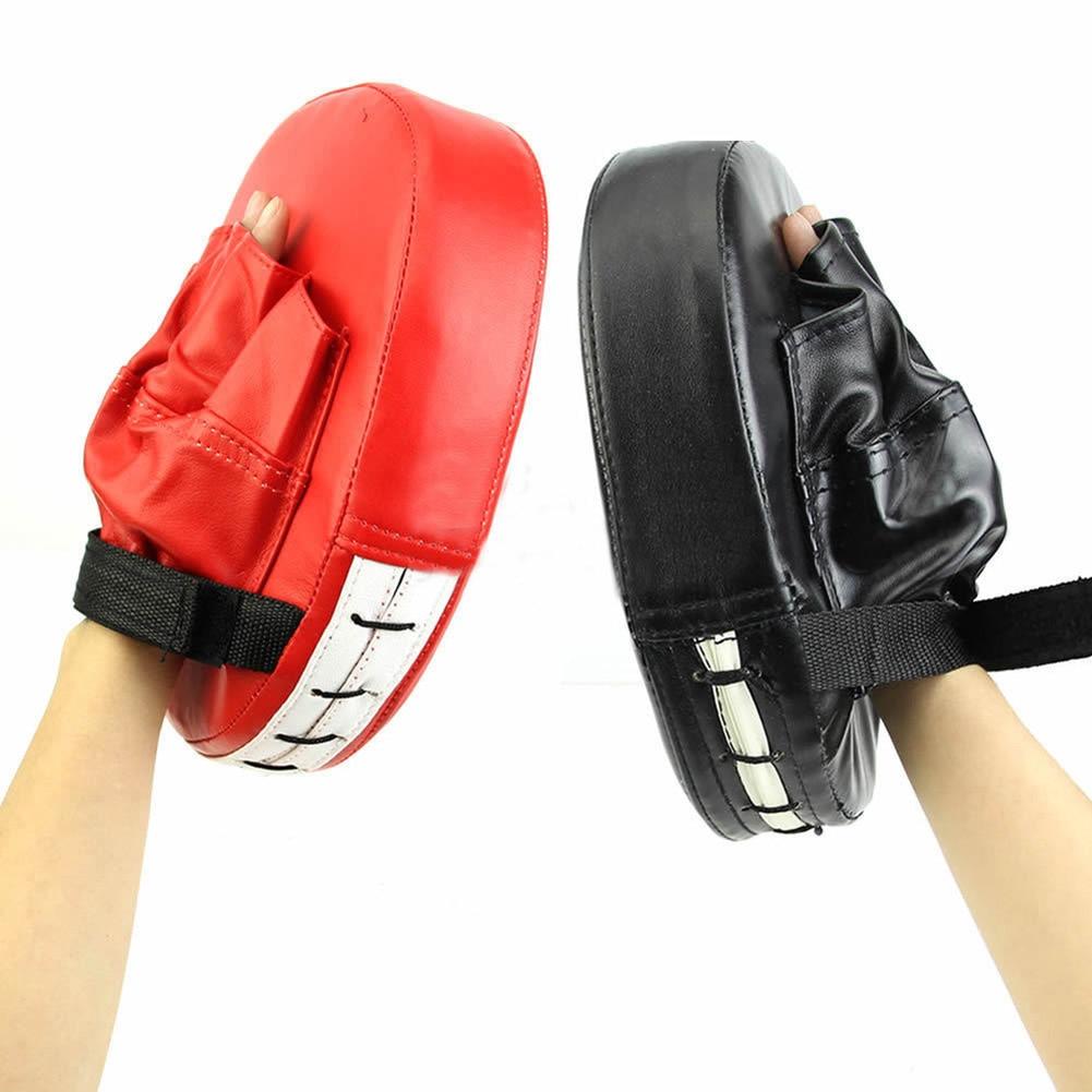 Boxing Mitt Training Focus Target Karate Combat Thai Kick Punch Pad Glove