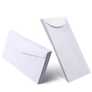 Image 4 - Free shipping 100pcs / lot white envelope simple clean blank envelope simple decorative wedding invitation envelope