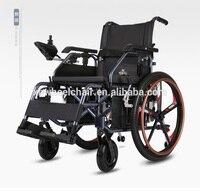 2017 Hot Sell Lightweight Folding Electric Wheelchair