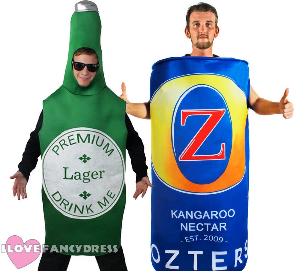 MEN/'S FANCY DRESS FUNNY FLUFFY ORANGE BIKINI DRESS UP STAG NIGHT PARTY.