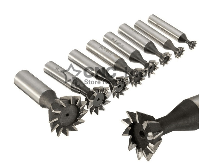 Image 3 - 1PCS 60 Degree HSS Dovetail Milling Cutters 60 Degree 10mm 12mm 14mm 16mm 18mm 20mm 25mm 30mm 32mm 35mm 40mm 45mm 50mm 60mm-in Milling Cutter from Tools