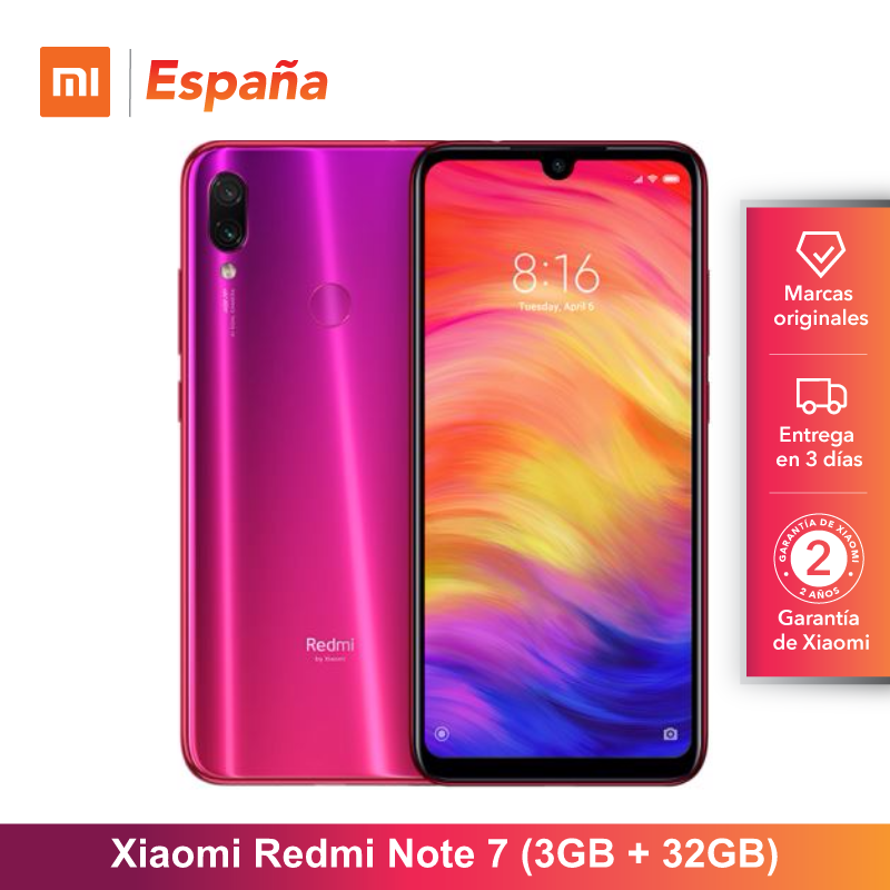 Xiaomi Nota Redmi 7 de 6.3