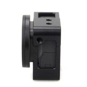 Image 5 - EACHSHOT Alüminyum Alaşım İskelet Kalın Katı ile Koruyucu Kılıf Kabuk için 52mm Uv Filtre Gopro Hero 7 6 5 kamera