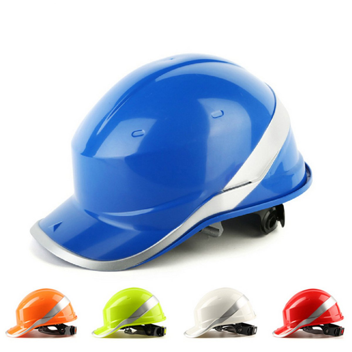 NEW Safurance Safety Hard Hats 8 Point  Construction Work Protective Helmets  ABS Insulation Material Protect Helmets high quality helmets hard hat y class of chinese standards safety helmets breathable abs anti smashing hard hats