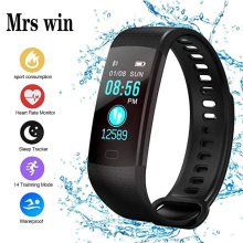 Mrs Win Y5 Smart Watch Fit Bit Fitness Smart Bracelet Smart Band Activity Tracker Pedometer Smart Watch Vibrating Alarm Clock