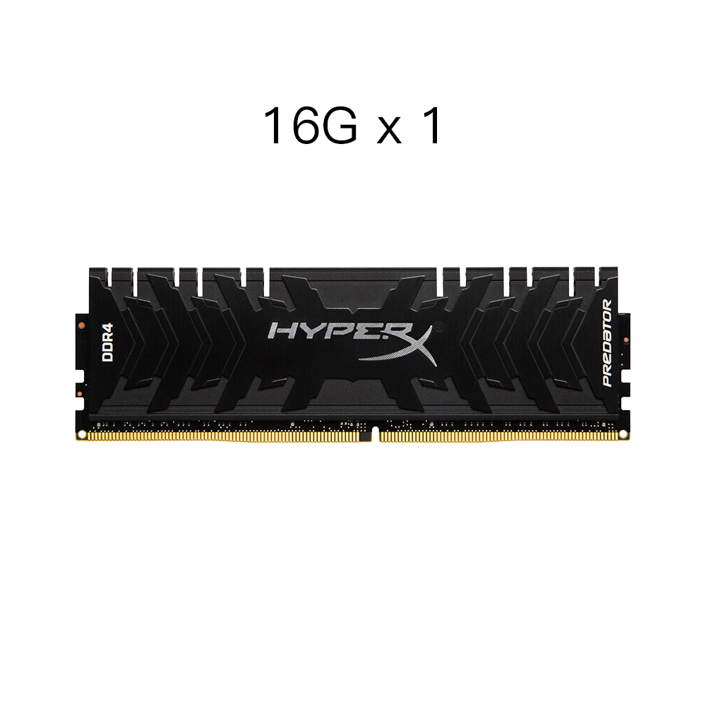 Kingston Original HyperX Predator 16GB Memory Ram DDR4 3000MHz High Speed 1.35V DIMM 288-Pin Gaming Memory Ram for PC Desktop цена и фото