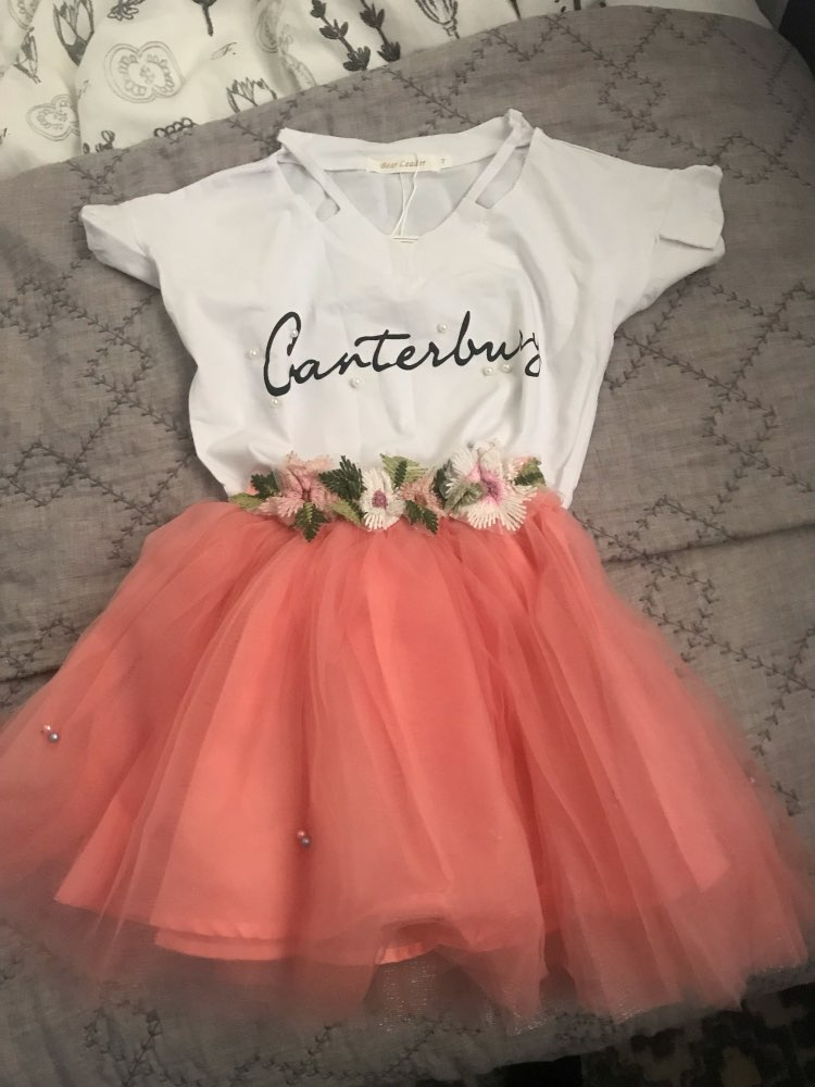 Girl Mesh Dress 2019 New Spring Dresses Children Clothing Princess Dress PinkWool Bow Design 2-8 Years Girl Clothes Dress