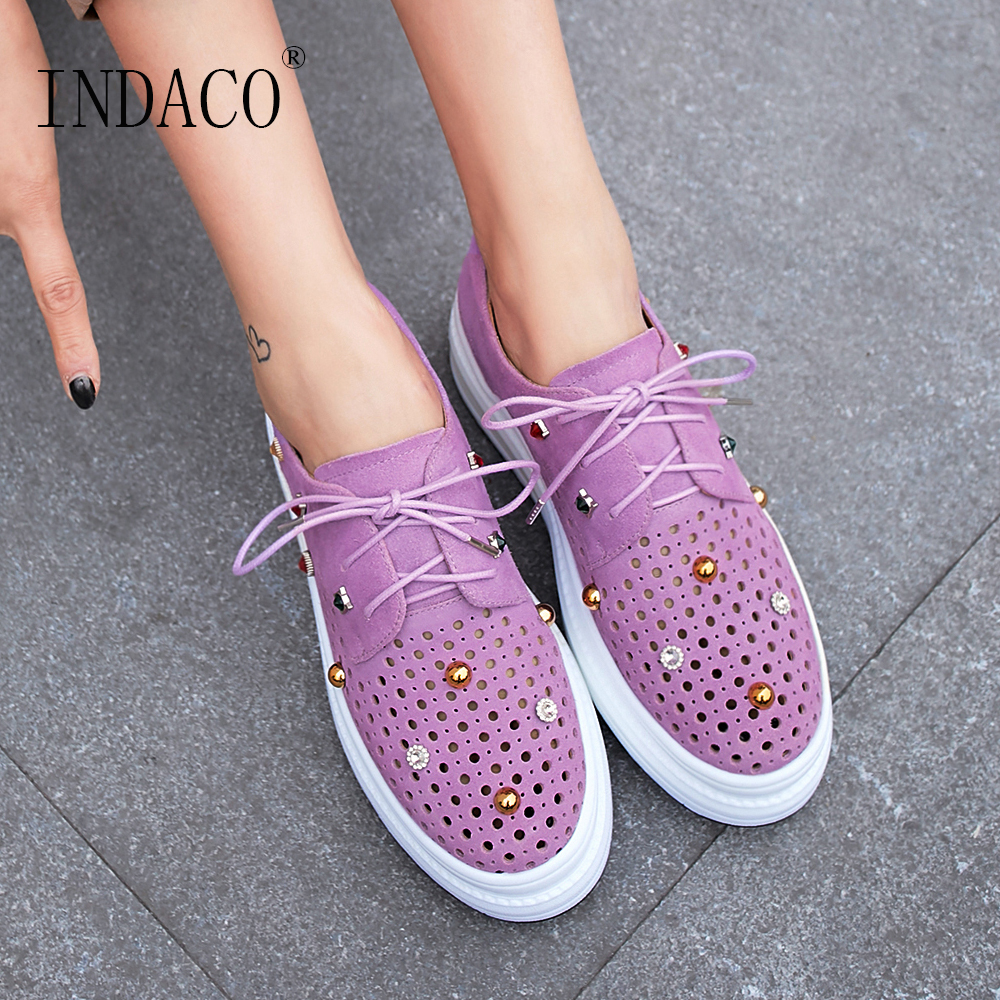 Sneakers Women Leather Yellow Purple Fashion Women Causal Shoes Women Sneakers 5cm-in Women's Vulcanize Shoes from Shoes    1