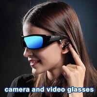 Smart Sunglasses Bluetooth Headset Wireless Smart Sport Camera Digital Video For MP3 Upgraded Version Smart Brill