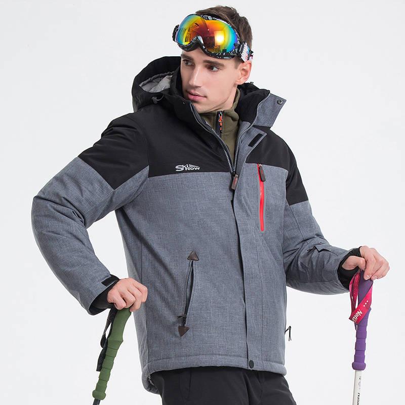 Men Hiking Windproof Waterproof Jacket