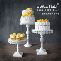 High feet cake stand for Cup European style cake tools for wedding party Bakeware tools Cake decorating stand lace edge