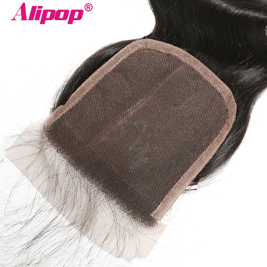 5x5 Lace Closure Body Wave Brazilian Huaman Hair Closure Pre Plucked with Baby Hair 8-20 ALIPOP Remy Hair Free23 Part Closure (3)