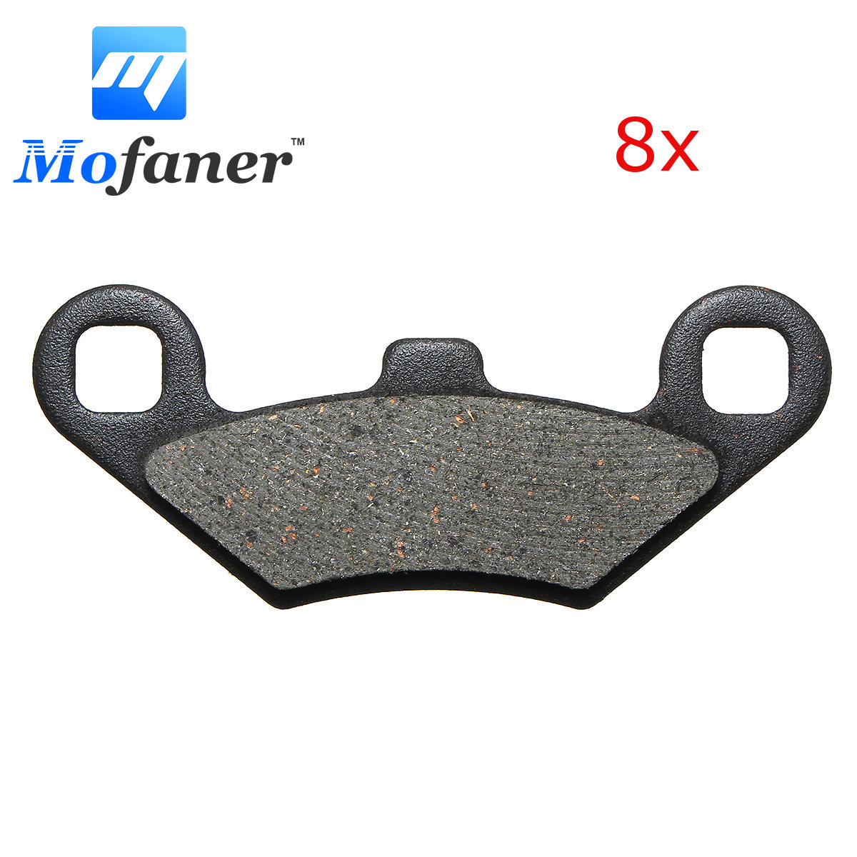 1Set Motorcycle Replacement Front Rear Brake Pads For Polaris RZR 800 RZR 800 S RZR 570 2008-2015 97 x 47 x 7mm 1 set motorcycle front