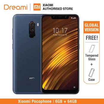 Global Version Xiaomi Pocophone F1 64GB ROM 6GB RAM (Brand New and Sealed) poco f1