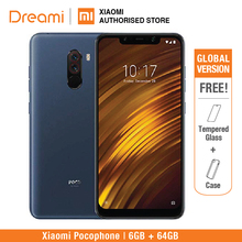 Global Version Xiaomi Pocophone F1 64GB ROM 6GB RAM (Brand New and Sealed) poco f1 Smartphone Mobile