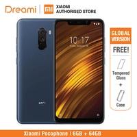 Global Version Xiaomi Pocophone F1 64GB ROM 6GB RAM (Brand New and Sealed) poco f1