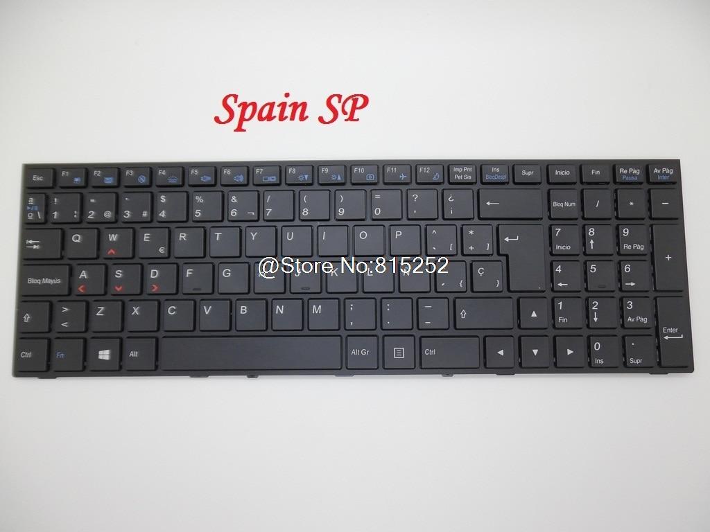 Laptop Keyboard For CLEVO P650RG-G P650SG P651RE6-G P651SE P655RA P670SE P670RE3-G P670RG-G P671SG P671RA P671SE P671RE3-G New laptop keyboard for clevo n550rc n550rn n551rc fn