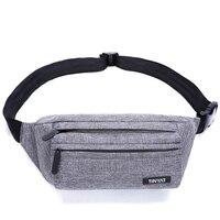 Eco-friendly Nylon pu cross body bag phone waist bag open acrylic makeup organizer business promotional shoulder bag unise