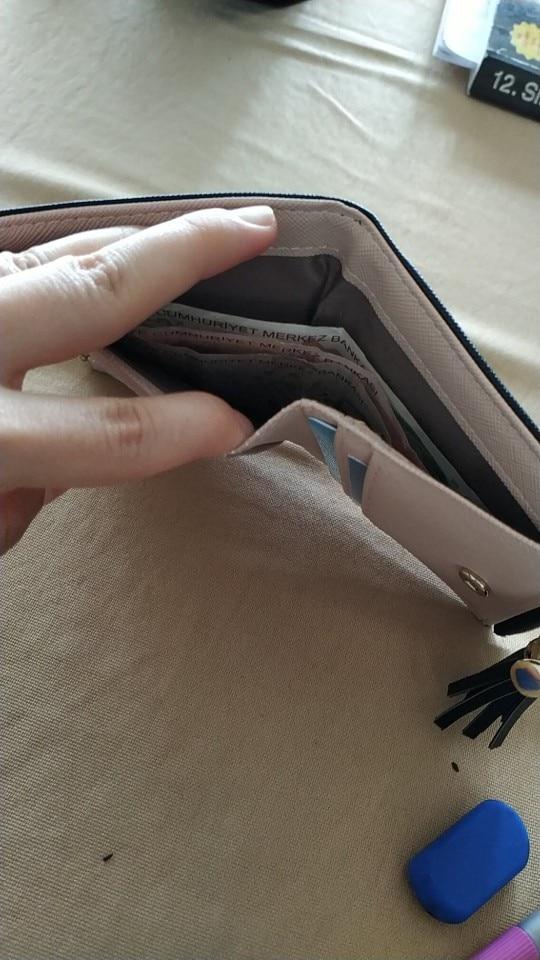 кожаный бумажник женщин; фиолетовый кошелек; фиолетовый кошелек; Пол:: Женщины;