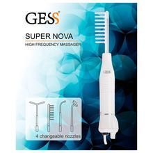 Дарсонваль Super Nova, 4 насадки в комплекте, GESS-623, GESS