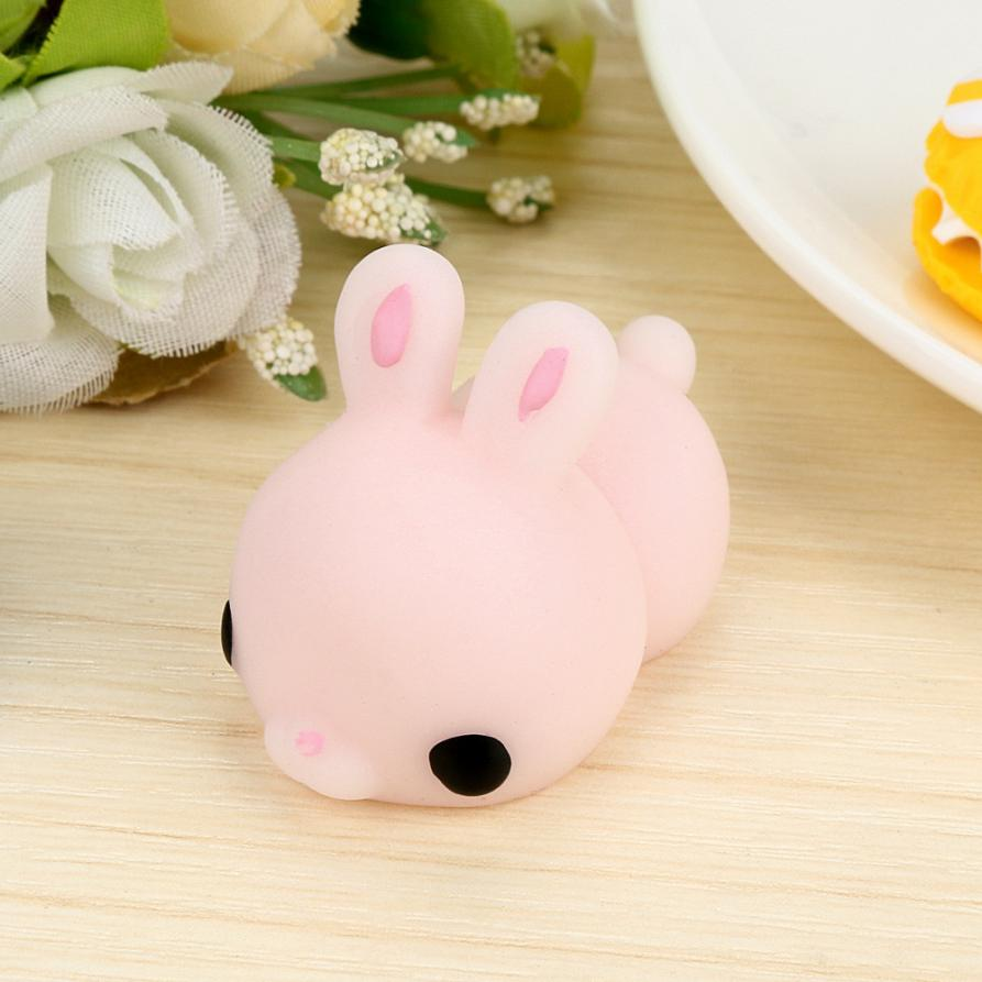 Bunny Wishes Squishy : Cute Mochi Squishy Cat Squeeze Healing Fun Kids Kawaii Toy Stress Reliever Decor IUNEED TOY ...