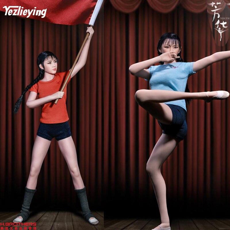 Полный комплект TBLeague PL2018 111 весы 1/6 Youth Женский солдат художественная труппа корпус фигурки модель для 12 дюймов Коллекция