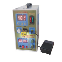 1pcs/lot Pulse Battery Spot Welder 788H Welding Machine Micro computer Battery Charger 800 A 0.1 0.2 mm 36 V with LED light
