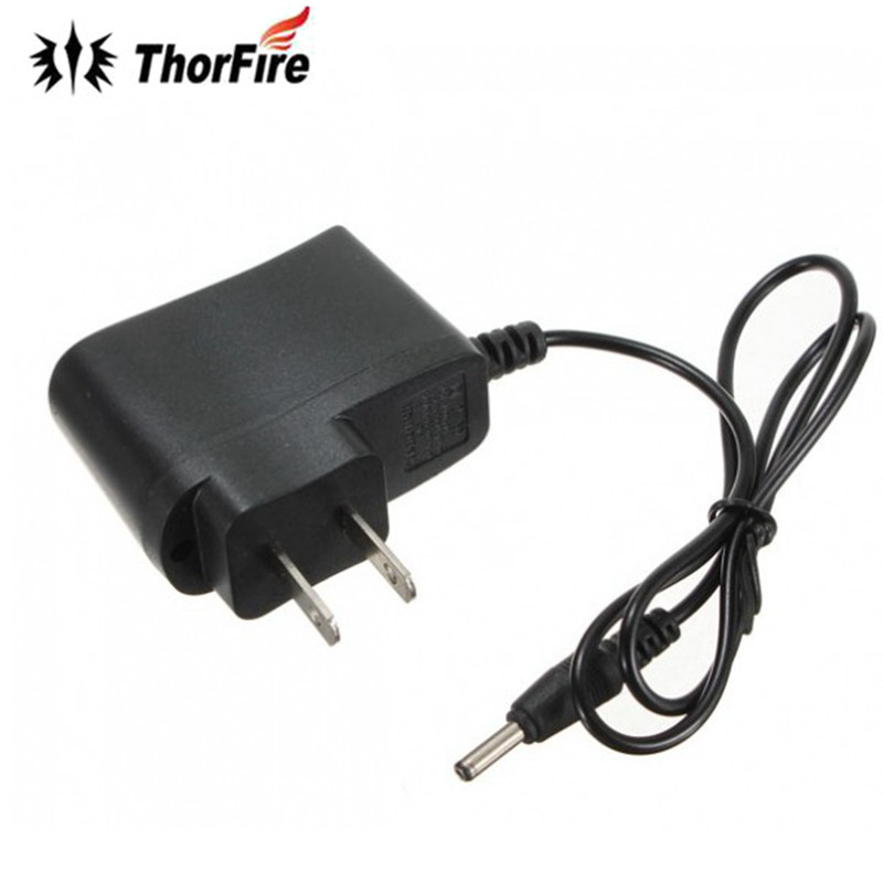 US Plug Wall AC Charger For 18650 Rechargeable Battery Headlamp Led Flashlight Torch LED Indication for Power On/Charging