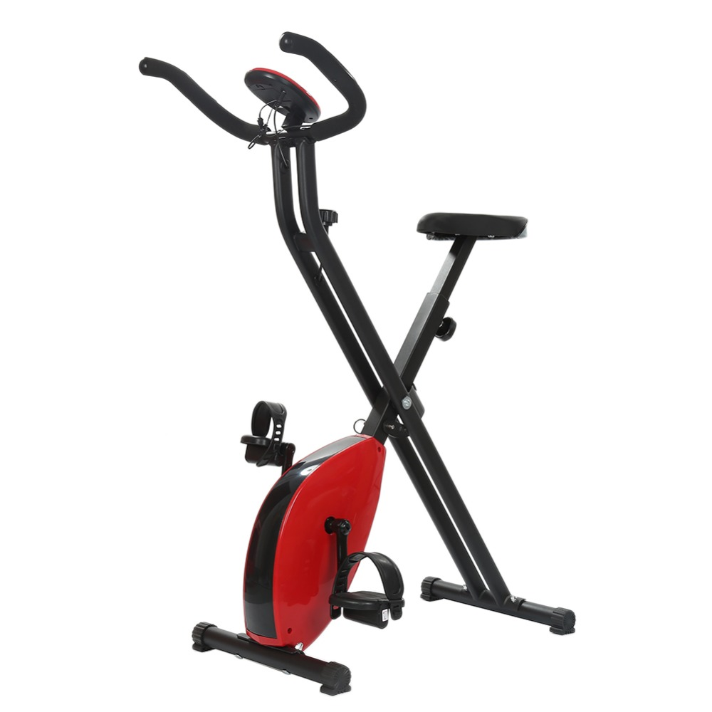 Strong-Toyers Drop ship Home Electric Exercise Bike Cycling Machine People Health Recovery Cardio Aerobic Fitness Equipment HWC