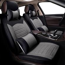 KOKOLOLEE (спереди и сзади) Специальный Лен сиденья для Benz A B C D E S серии Вито Viano Sprinter Maybach CLA CLK автокресла