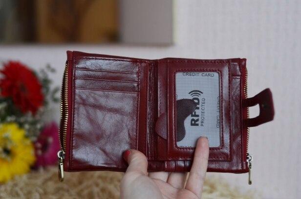 портмоне; портмоне; Основной Материал: Натуральная Кожа; мужчины бумажник;
