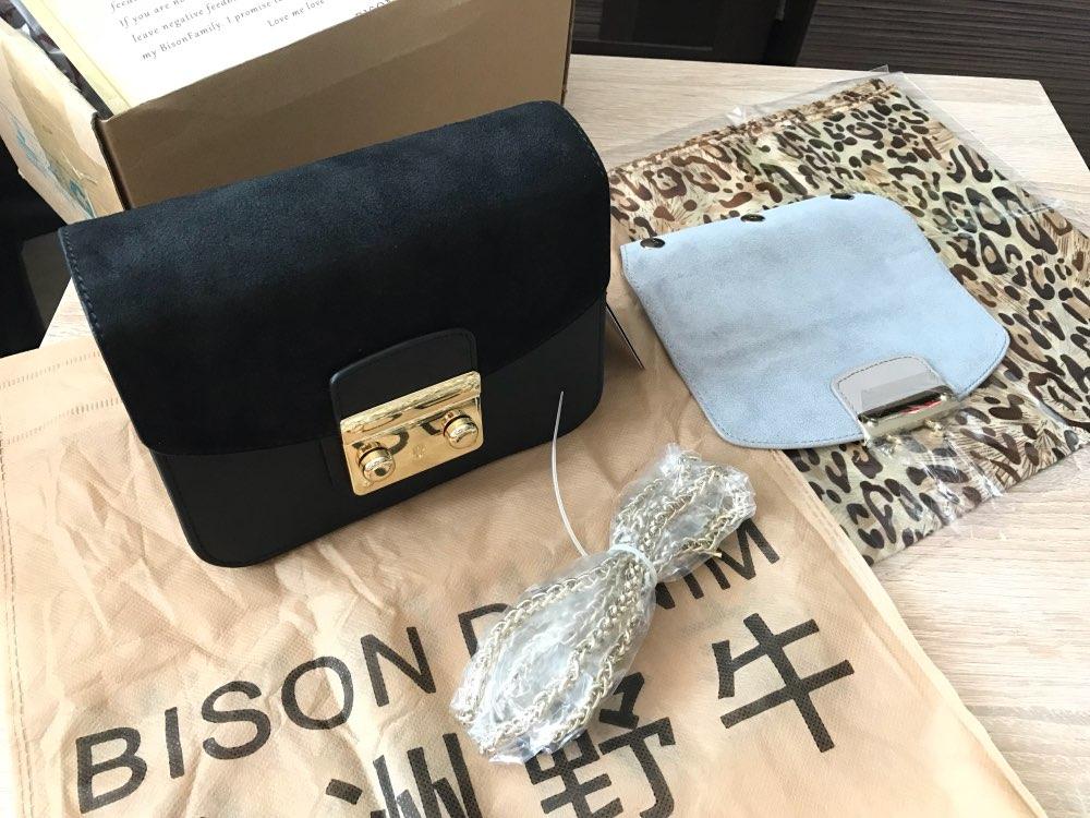 Женская сумка из натуральной кожи BISON DENIM