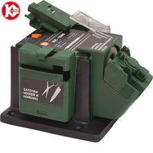 Электрический многофункциональный заточной станок Калибр ЭЗС-65МФ Мощность 65 Вт, для сверел диаметром 3-10 мм, для зубил/лезвий шириной 6-51 мм и оборотами 6700 об/мин