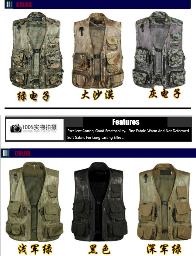 48116397ef210 Detail Feedback Questions about Male Tactical Vests Summer ...