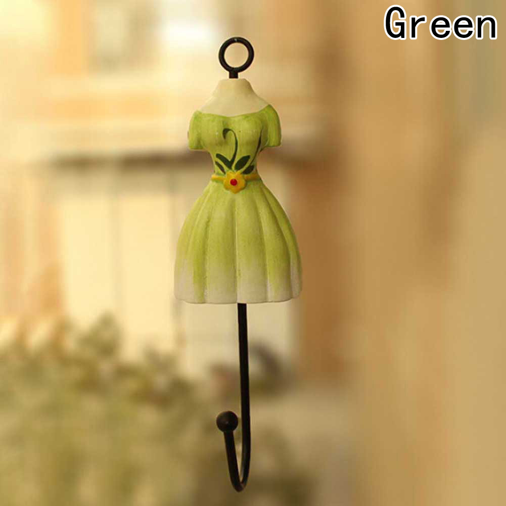 1Pcs Towel Decorative Wall Hook Princess Dress Hook Colorful Iron ...