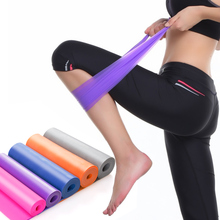 JAYSON 1.5m Yoga Sports Fitness Resistance Bands Women Man Rubber Latex Elastic Expander Workout Pull Rope Crossfit Bodybuilding