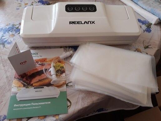 reelanx вакуумный упаковщик 160 вт отзывы