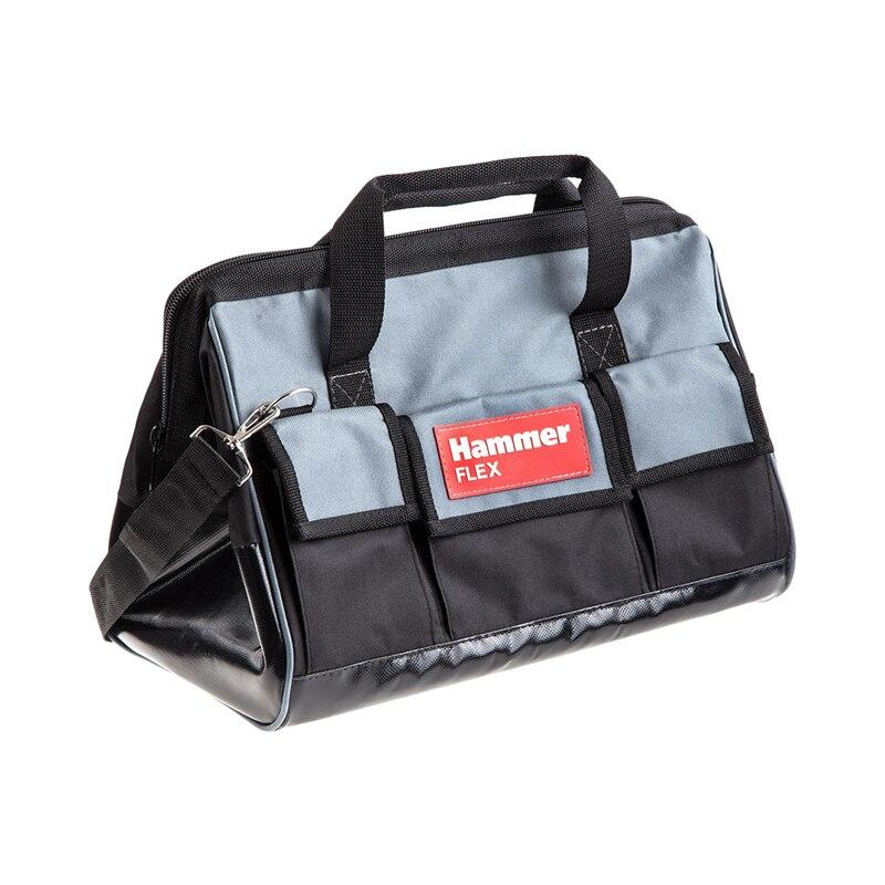 Tool Bag Hammer Flex 235-021/554534 перчатки hammer flex 230 021 кожаные спилковые повышенной прочности