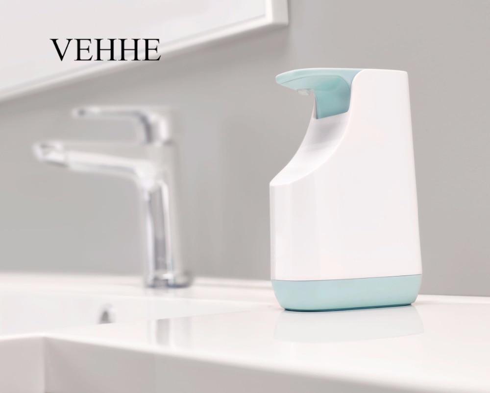 VEHHE Liquid Soap Dispenser Pump Set Multi-functions Kitchen Detergent Container Bathroom Shower Shampoo Soap Dispenser