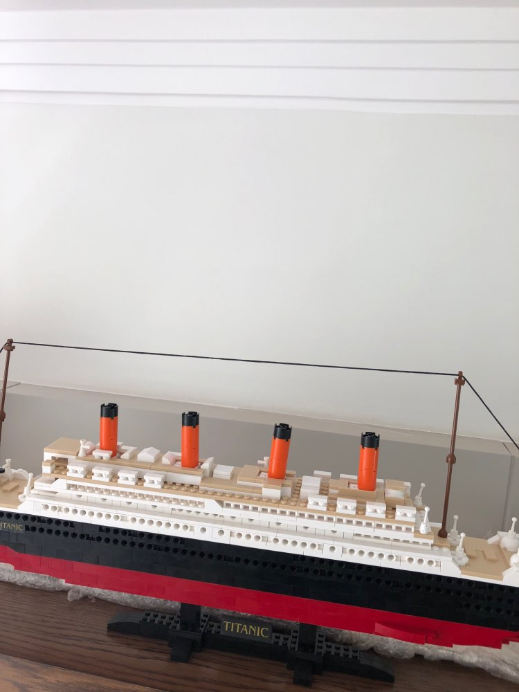 Titanic Movie Playset with Jack & Rose 1021 Pieces