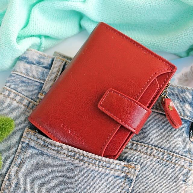 бумажник женщина; бренд класса люкс ; Основной Материал: Сплит Кожа; бумажник женщин;