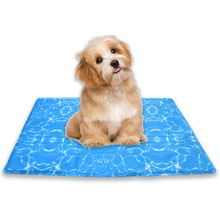 Pet Cooling Mat Dog Bed Cat Summer Ice cooling  mat Soft Nylon Chilly Travel
