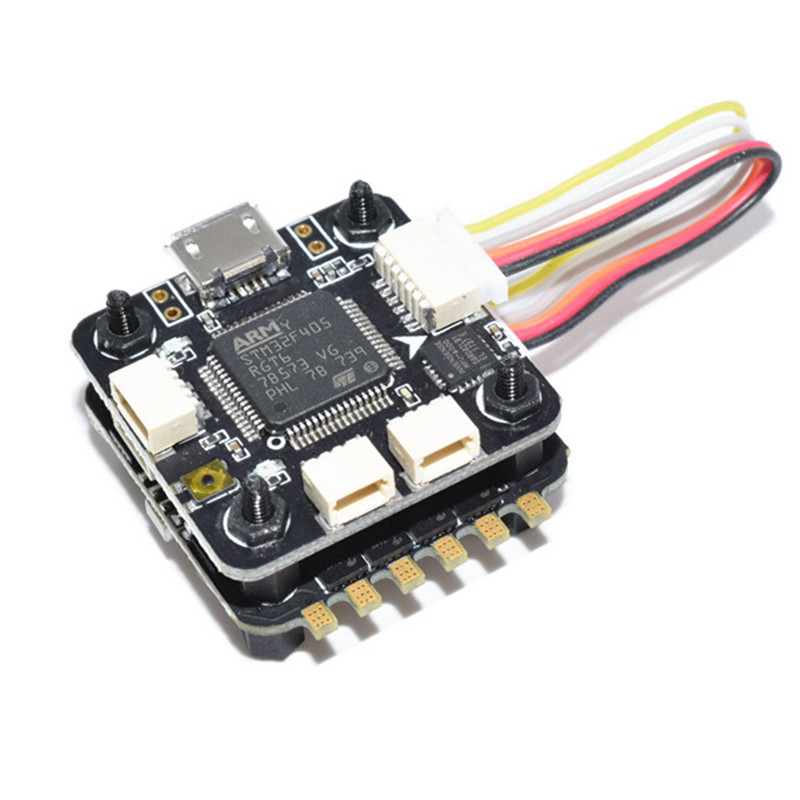 20x20mm ARF4-3AOM Flytower F4 Flight Controller AIO OSD BEC & 28A BLheli_S ESC for RC Drone Multi Rotor Model Spare Part spare htirc dragonfly 20a brushless esc for qav250 280 h250 330 multi rotor rc hobby