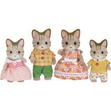 Набор Sylvanian Families Семья полосатых Кошек