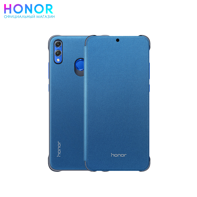 Honor 8X Flip cover original view window flip pu leather case cover for uhappy up920